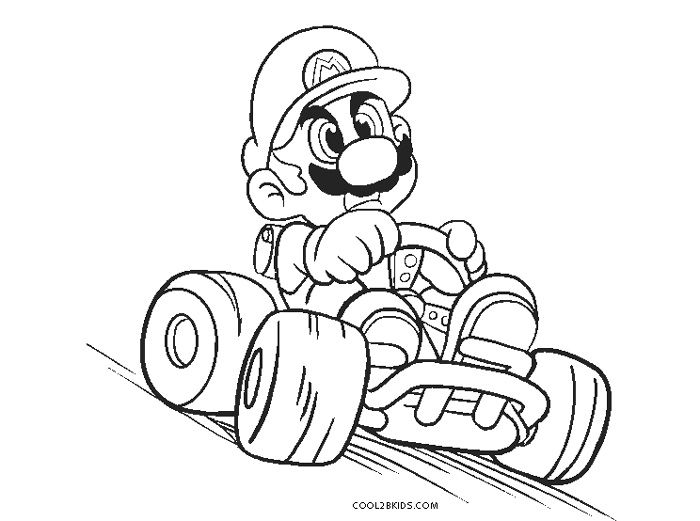 Free Printable Mario Kart Coloring Pages For Kids Cool2bkids Mario Coloring Pages Coloring Pages Super Mario Coloring Pages