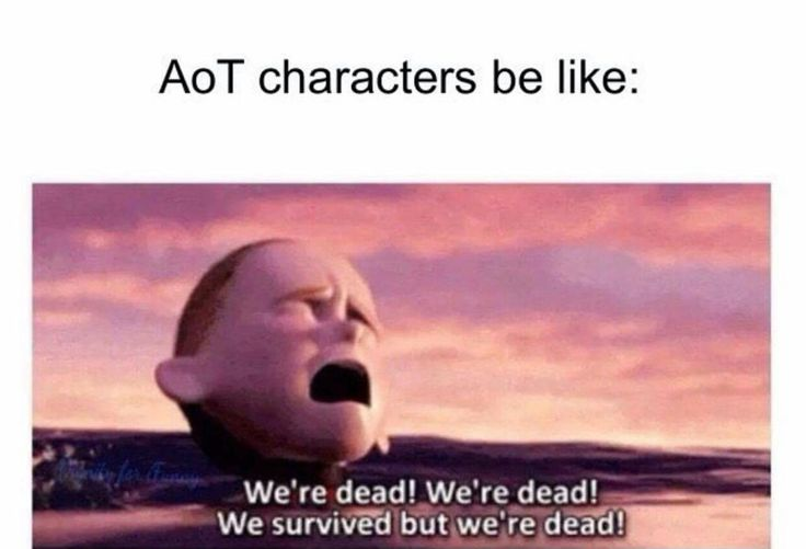 Aot characters be like