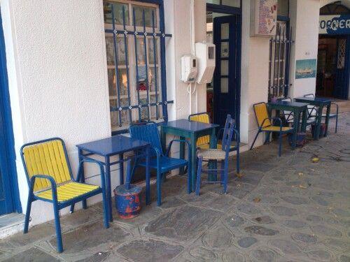 Kafenes, Karavostamo