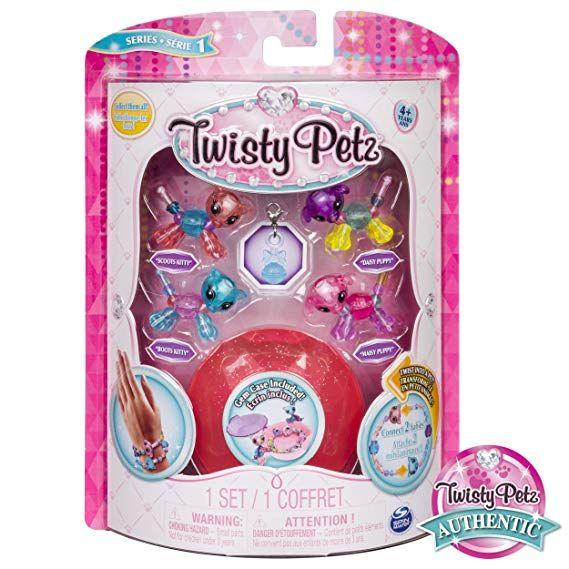 Twisty Petz SKYLEY FLYING UNICORN /& SUGARPIE LLAMA Bracelet Jewelry Set   3 Pack