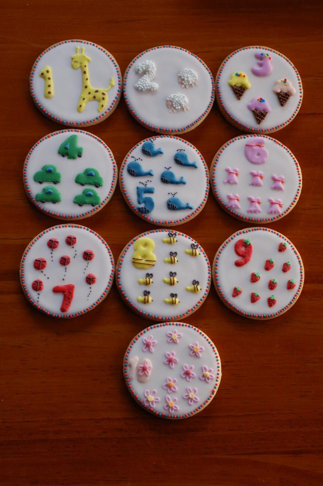 number cookies | Cookie Connection