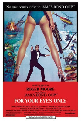 Best gila film james bond. James Bond - For Your Eyes Only poster