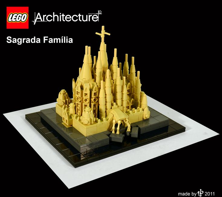 Lego Architecture mock up - Sagrada Família   LEGO ...