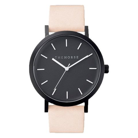 159 PAPER PLANE - The Horse Watch - Nude/Matte Black