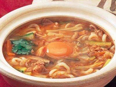 鶏スープの煮込みうどん