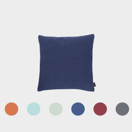 Square Pillow from PYTT Living available in six colors.