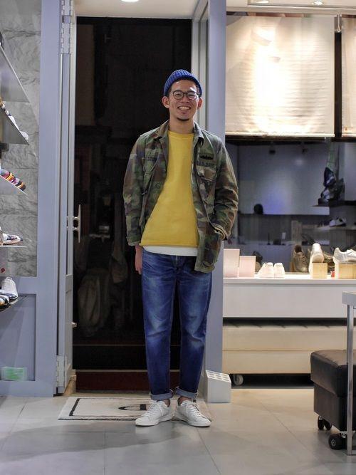 LB_MATSU(PATRICK LABO KICHIJOJI)|PATRICKのスニーカーを使ったコーディネート - WEAR