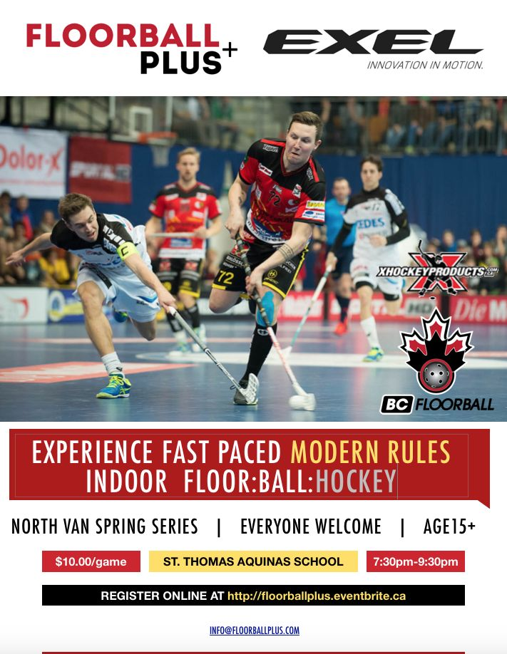 Floorball+ Spring Sessions- Eventbrite