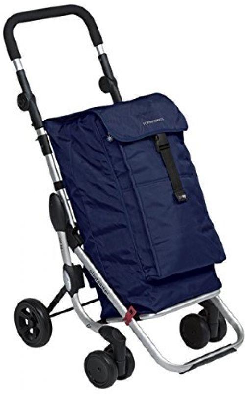 Folding Shopping Trolley on 4 Wheels Foldable Portable Bag Cart Luggage Marine | Home, Furniture & DIY, Luggage & Travel Accessories, Luggage | eBay!