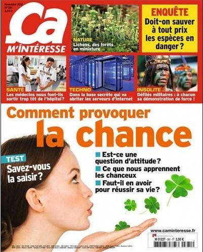 Ça M'Interesse N°381 - Novembre 2012...!!!