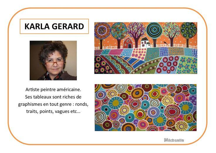Karla Gerard - Portrait d'artiste selon Mickaelle