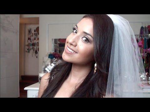 Bridal Make-up Tutorial. I like what she's done.