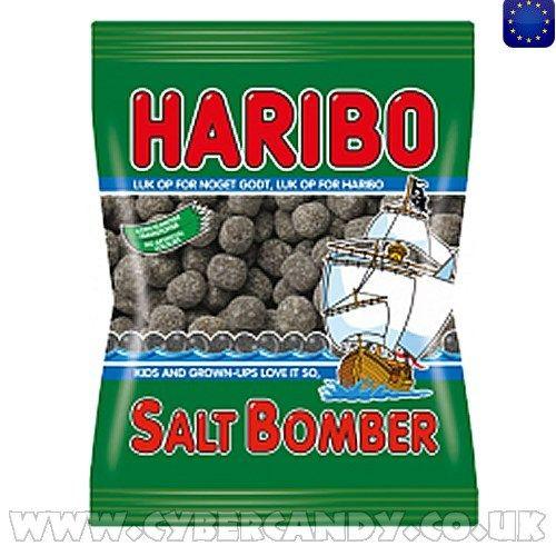 Haribo Salt Bomber Liquorice  140g