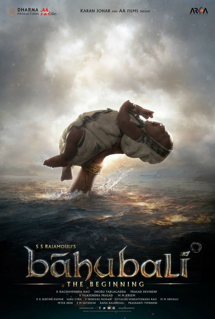 Baahubali Hindi Poster