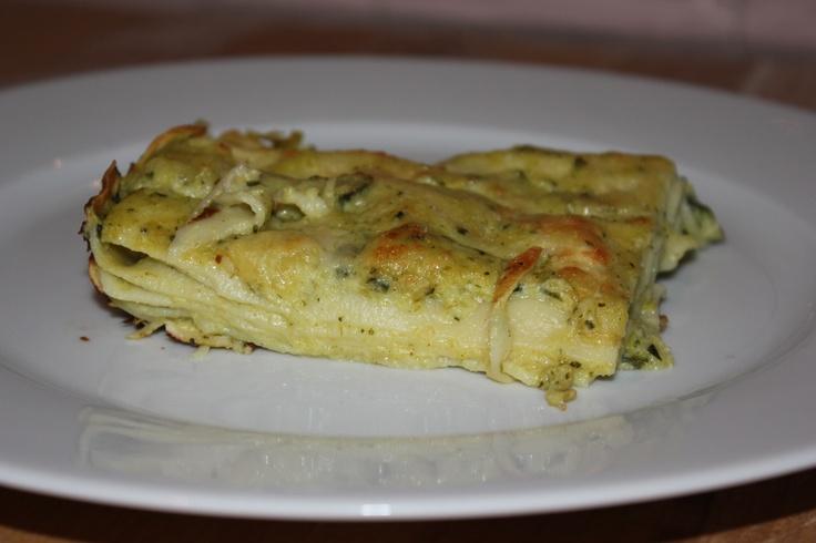 Lasagna di zucchine e taleggio