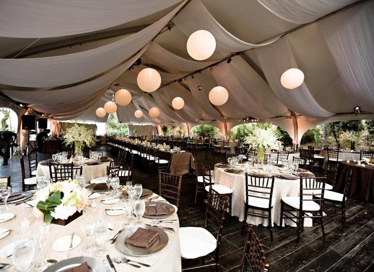 Perfect Outdoor Tent Wedding Ideas