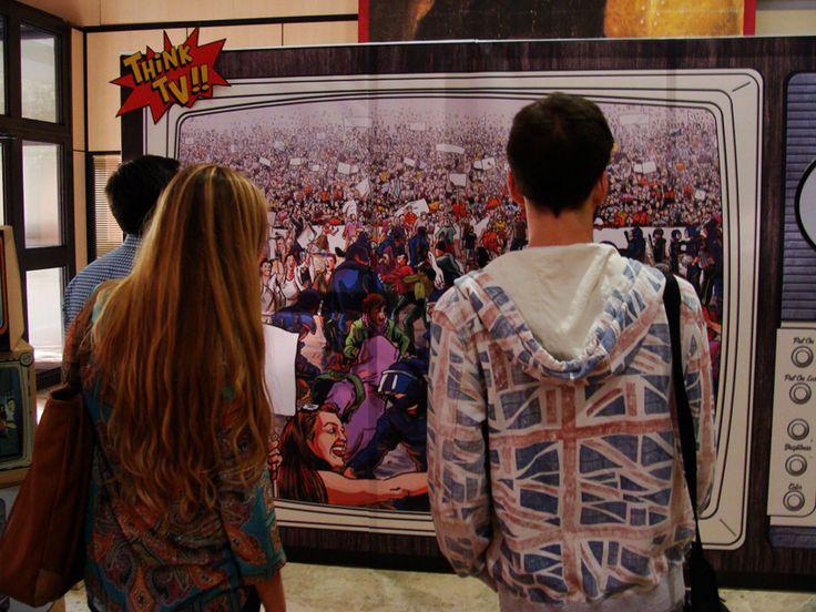 """Think TV, """"Think TV"""" ZARVA BARROSO. ART PUBLIC 2014 - Universitat Pública. XVII Mostra d'art públic per a joves creadors."""
