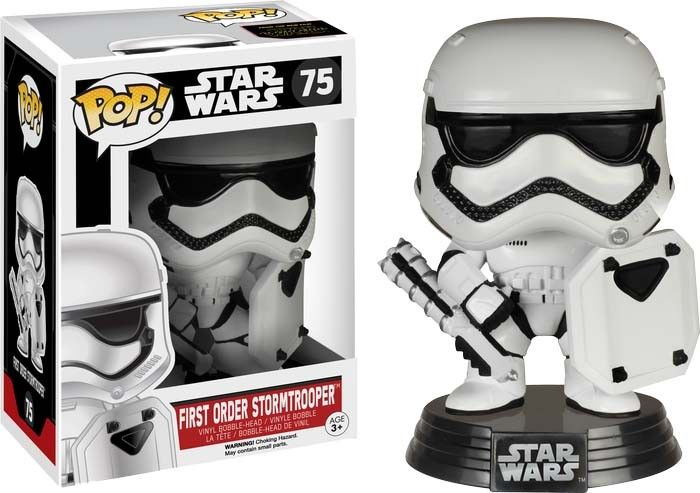 Pop! Vinyl Star Wars - FO Stormtrooper Shield Ep 7 #75