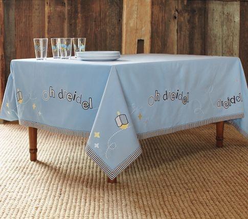 Hanukkah Tablecloth Jewish Holidays With Style