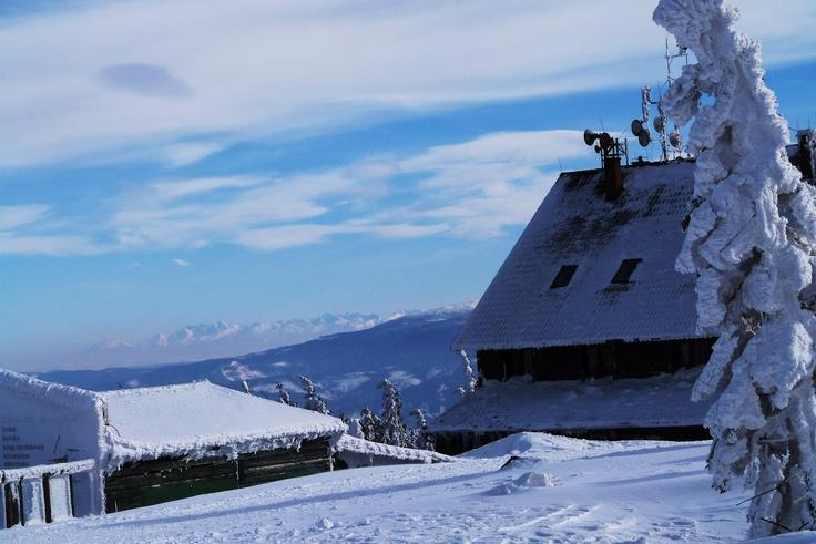 Winiarska Krystyna - Szczyrk - Skrzyczne z widokiem na Tatry - Panoramio