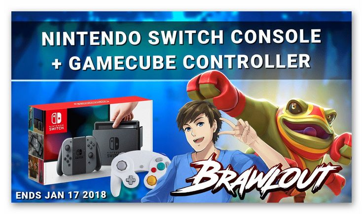 Nintendo Switch Console + Gamecube Controller Giveaway,golden goose giveaways,win a nintendo switch,win a game console,brawlout game,gamecube for nintendo switch,gleam contests 2018,current sweepstakes 2018,win a game system 2018