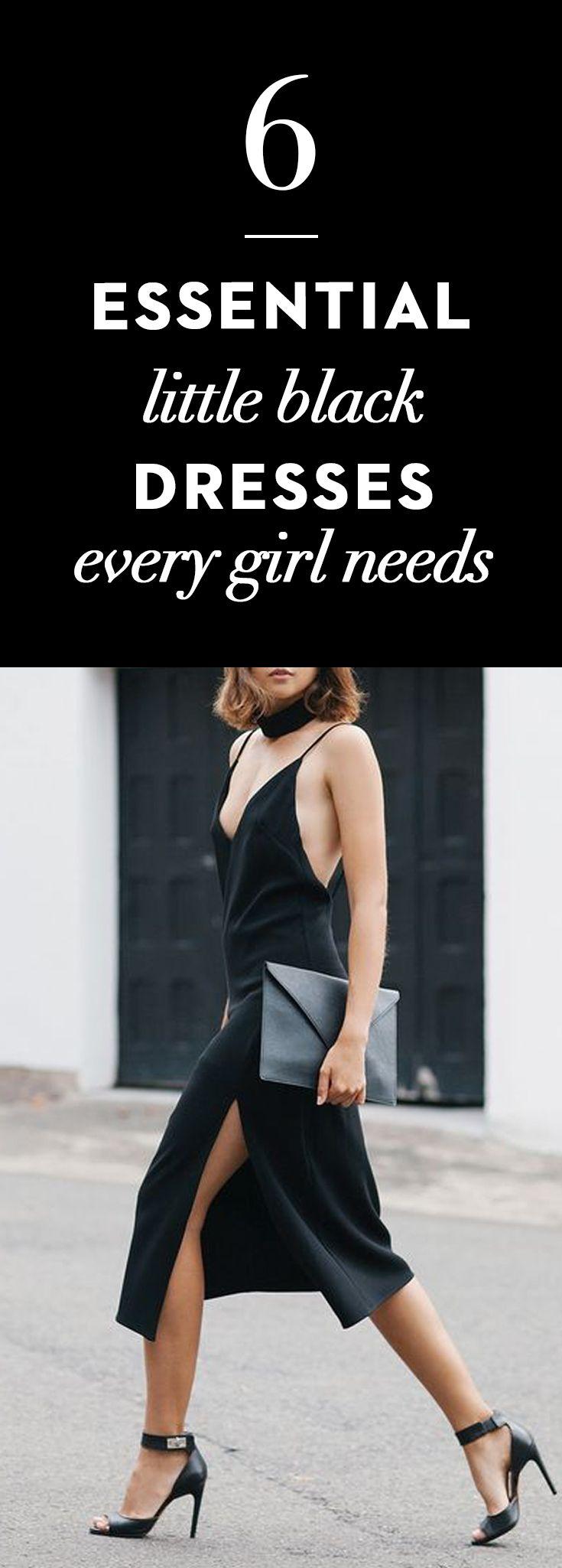 Back to the basics- Black Dresses every girl needs