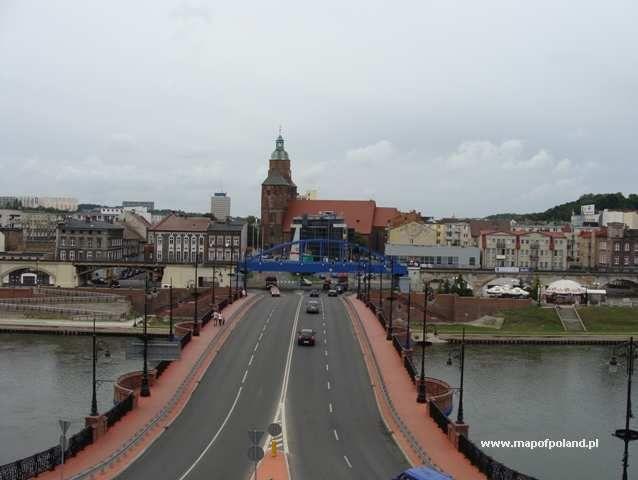 GORZOW WIELKOPOLSKI- old bridge          Poland