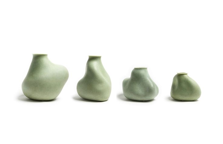 Sculpt vessels | Italian green earth