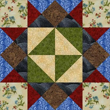 Check Out All These Free 12-Inch Quilt Block Patterns: Girl's Choice Quilt Block