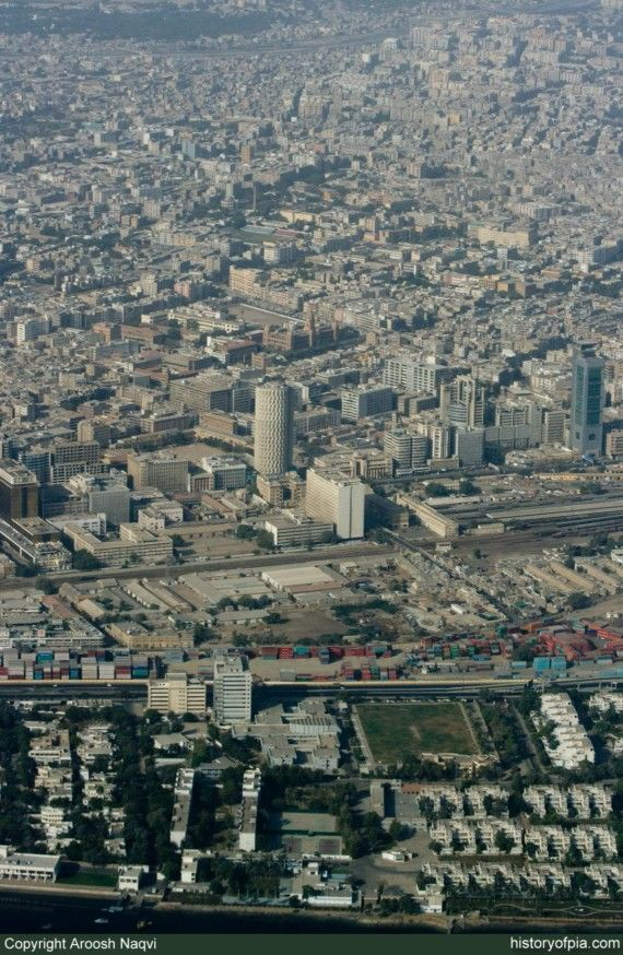 Downtown Karachi
