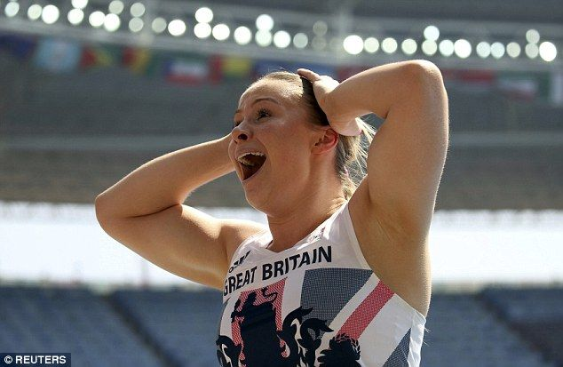 Sophie Hitchon is the first British woman to win an Olympic medal in the hammer…