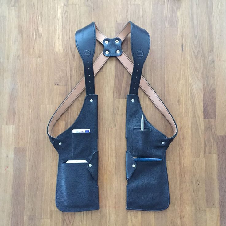Holster Bag Classic. Not exactly a backpack, but interesting concept of vest as bag.