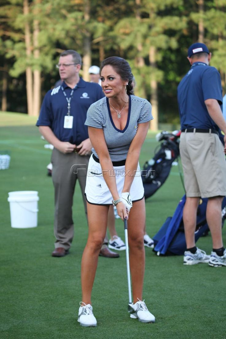 Holly Sonders joined Golf Channel... Another reason to watch golf.
