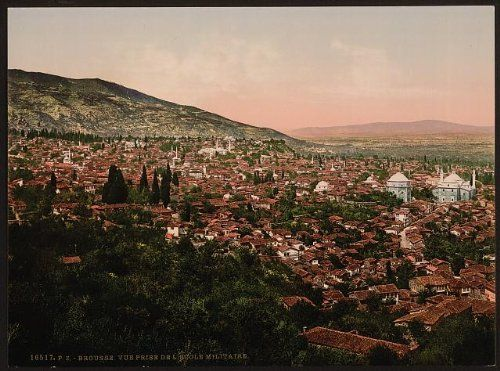 Amazon.com: Photo: View of the city, Bursa, Turkey: Prints: Photographs