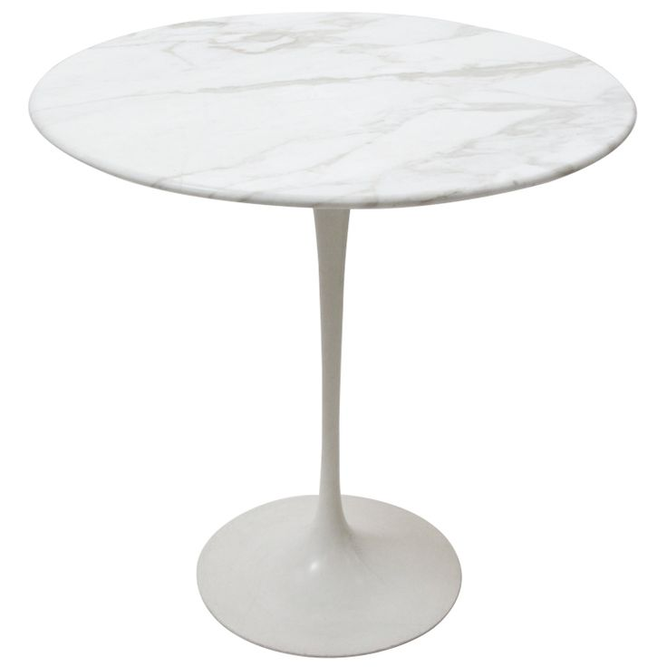Saarinen For Knoll Marble Top Side Table