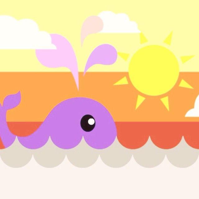 #flashanimation #gresikanimation #shortanimation #animasi #animasipendek #art #artwork #artworkoftheday #draw #drawing #illustration #vector #vectorart #cute #whale #cartoon #characterdesign #design  The Whale