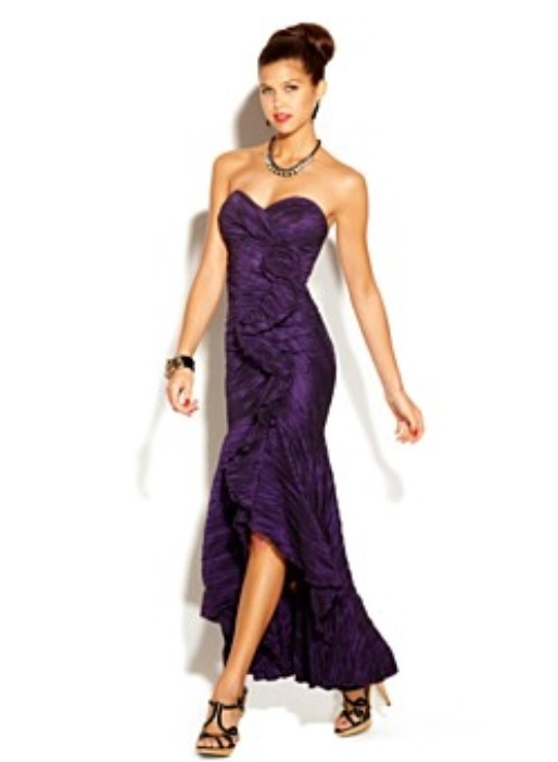 e7bf78c0128 Diamond Ring  Purple Dresses For Juniors Macy s