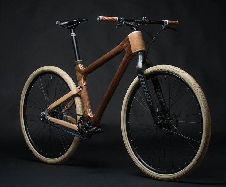 Grainworks AnalogOne.One wooden bike  #bicycledesign