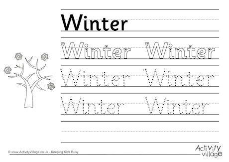 87 best images about winter activities for kids on pinterest handwriting worksheets alpine. Black Bedroom Furniture Sets. Home Design Ideas