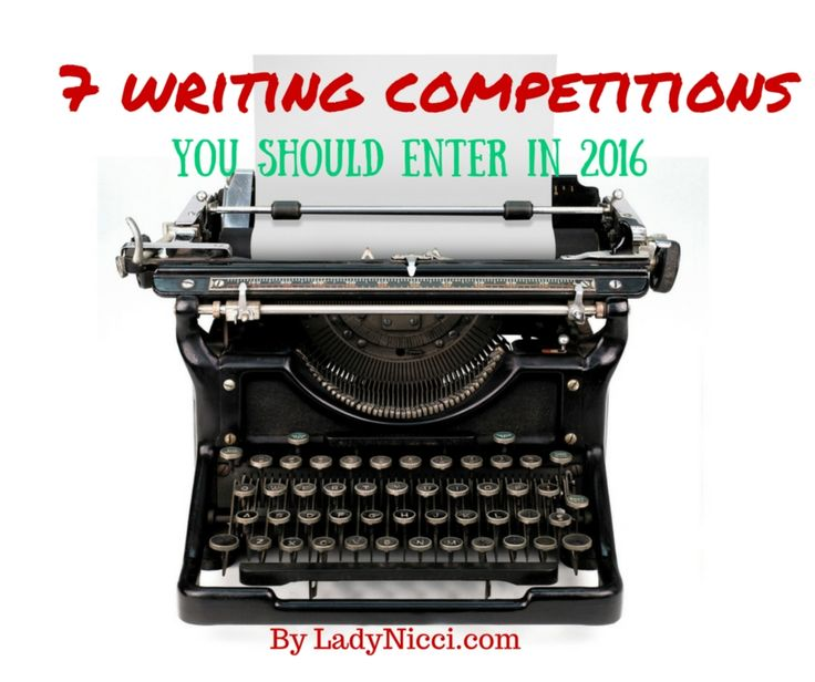 A source list for finding the best writing competitions, prizes and the top seven I'll be aiming for in 2016 #amwriting