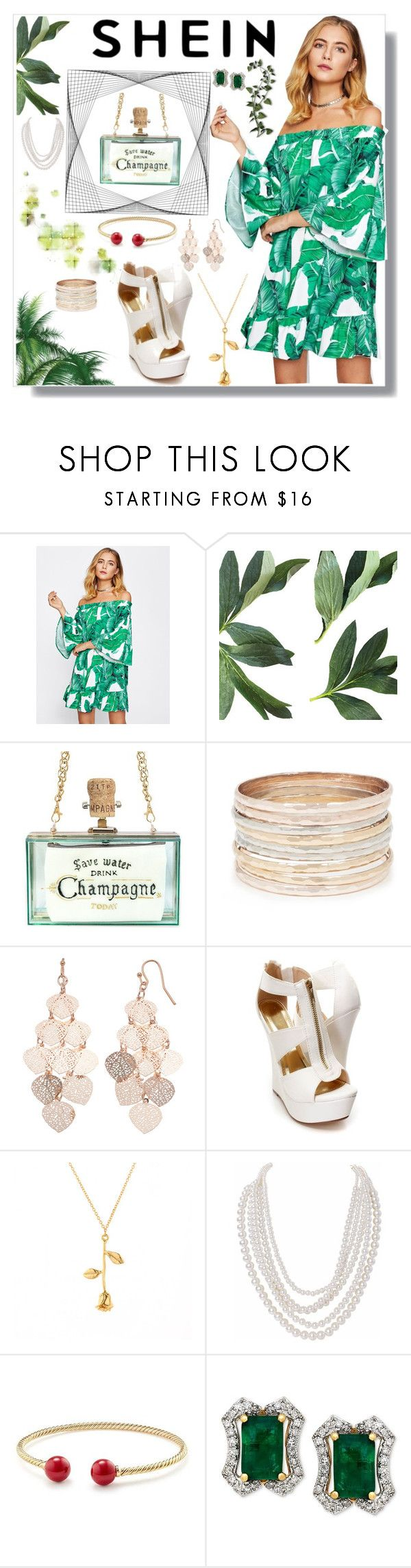 """""""Shein"""" by eldinreham on Polyvore featuring LC Lauren Conrad, Humble Chic and David Yurman"""