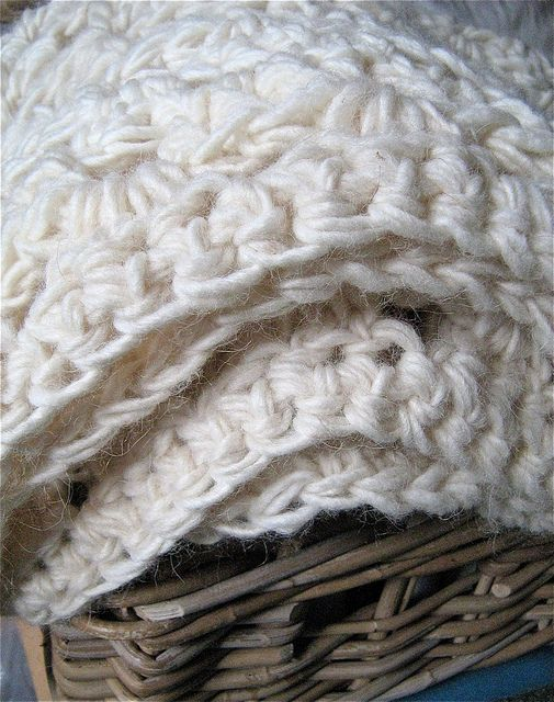 chunky crochet blanket - Google Search
