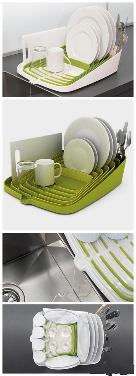 Dish Drainer. Clever design