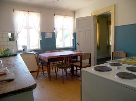 Kitchen before renovation, Æblegaarden B&B, Langeland, Denmark, Photo by Jacob Burén, www.aeblegaarden.dk