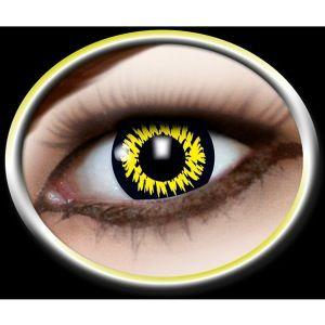 Kontaktlinser vareulv. Vampyr Kontaktlinser med motiv som varulve øjne. Elsker du Twilight eller vil du bare klædes us som en rigtig vareulv, så er dette de helt rigtige kontaktlinser. Vampyrer og varulve udklædninger er meget populærer og disse er fantastiske til netop denne udklædning. Mange bruger dem til halloween eller til andre uhyggelige fester. #Twilight #vareulv #kontaktlinser #halloween