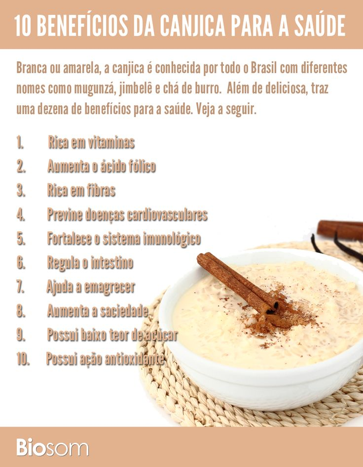 Clique na imagem e veja os 10 benefícios da #canjica para a saúde.