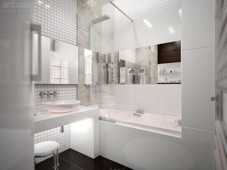 Ванная комната Дизайн интерьера в загородном доме