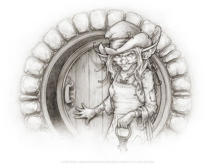 Meet Maggin. She's the landlady of the Motley Inn, an establishment that caters mainly for goblins...but you can visit it too in the latest book by @chaelenglish