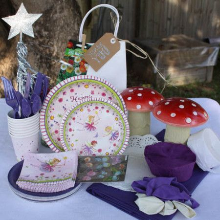 Fairy party package. So cute! Great Value delivered to your door. http://www.qualitytimepartysupplies.com.au/shop/fairy-enchantment/fairy-party-package/