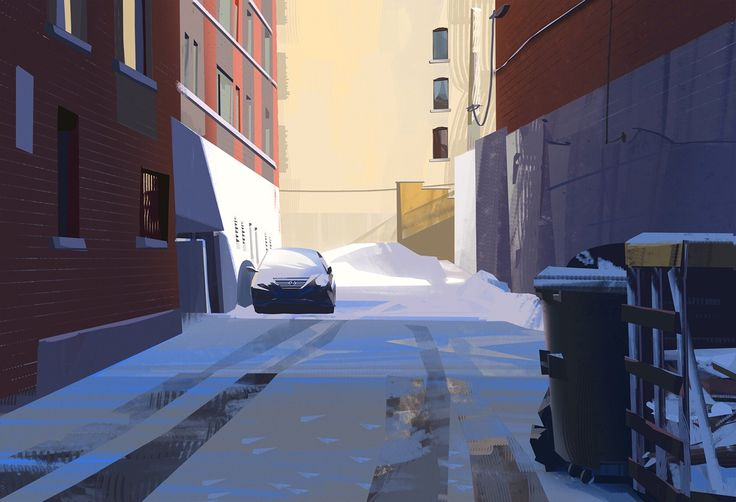 Yun Ling Drawing Scenery Environment Concept Art Landscape Art